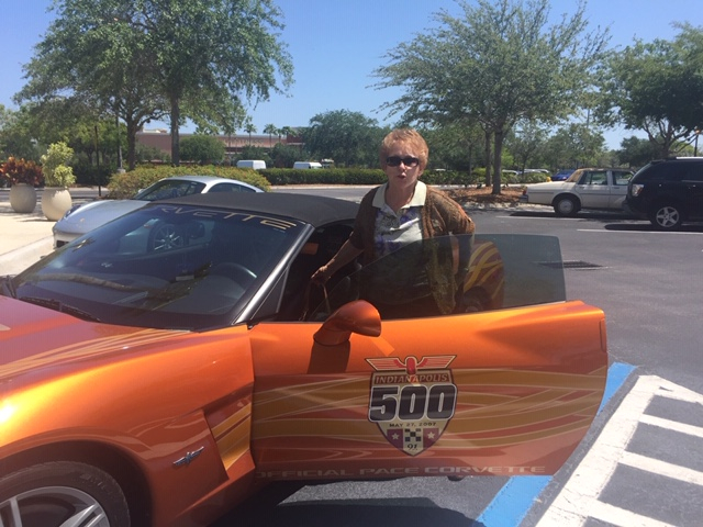 Cathy Doyle, 2007 Indy Pace Car