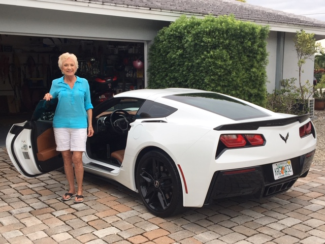 Mary & Dick Suter,  2015, ZR1