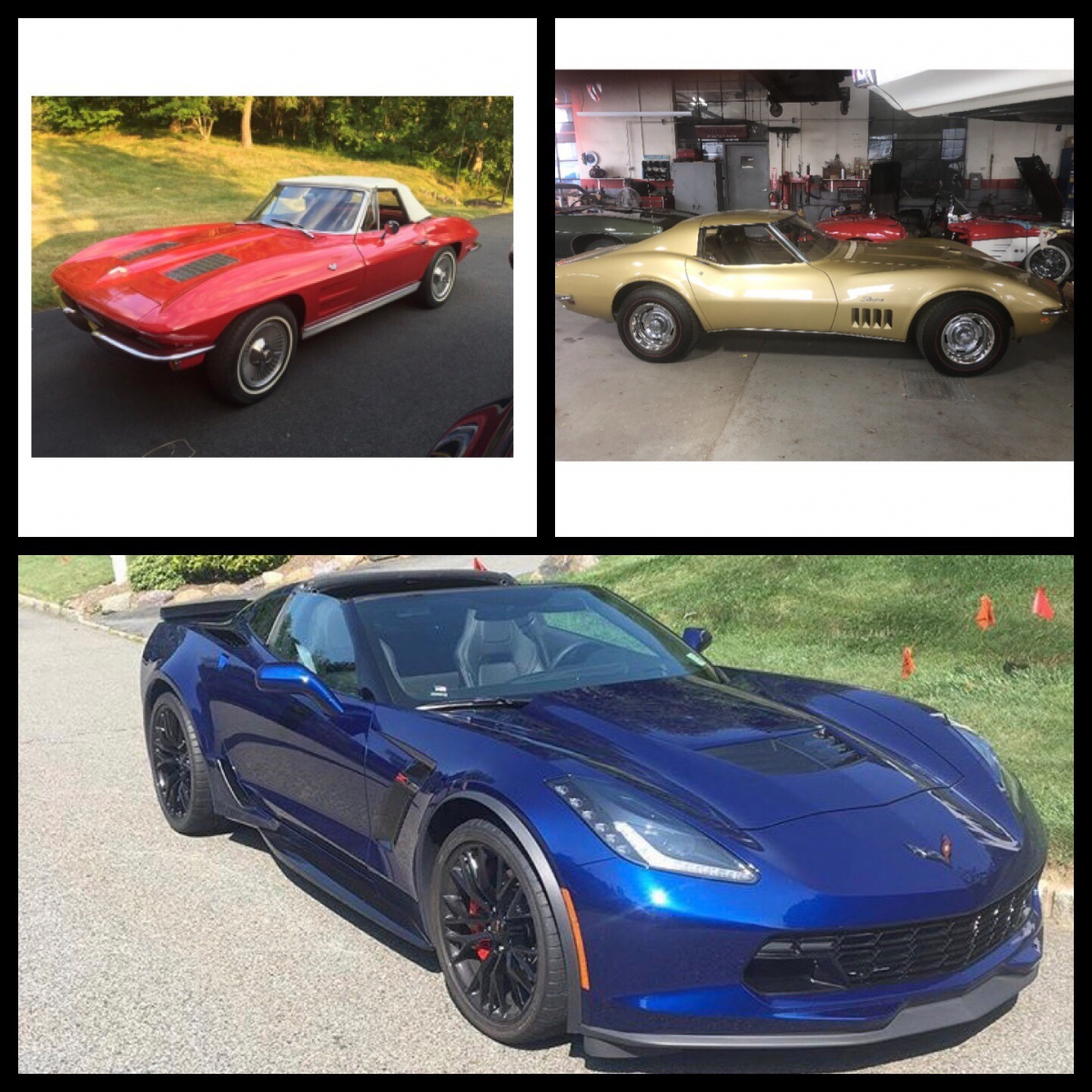 Dave & Wendy Hollenberg, 1963, 1969, and 2017 Z06