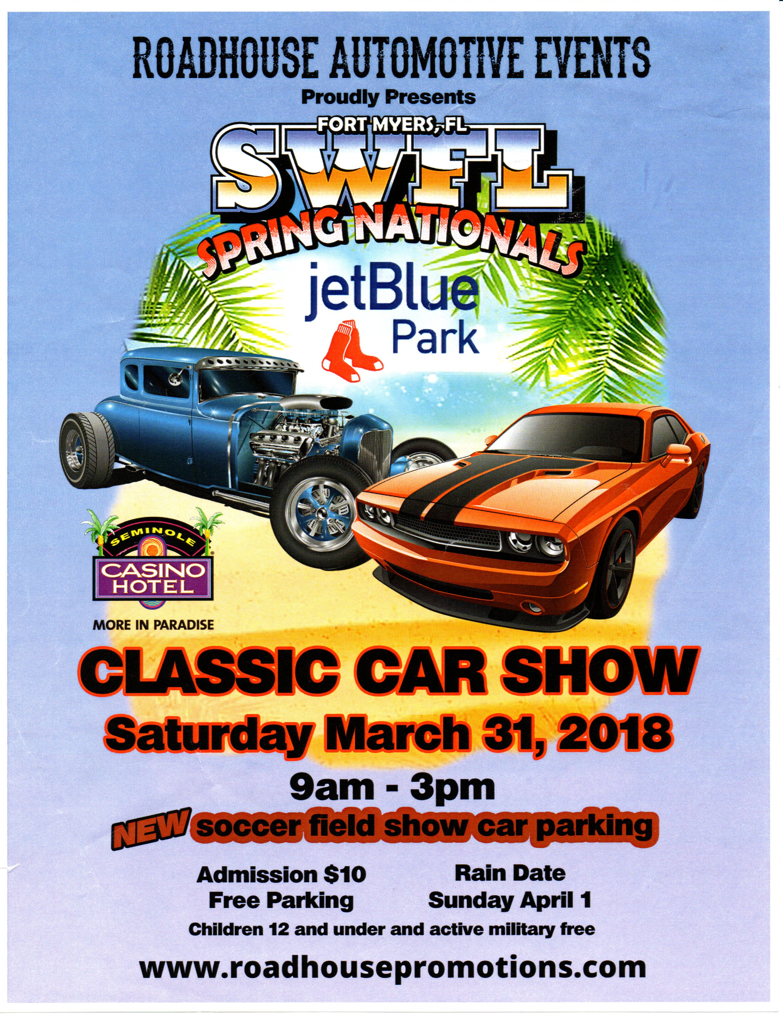 SWFL Spring Nationals Roadhouse Automotive Event Corvettes Of Naples - Fort myers car show 2018